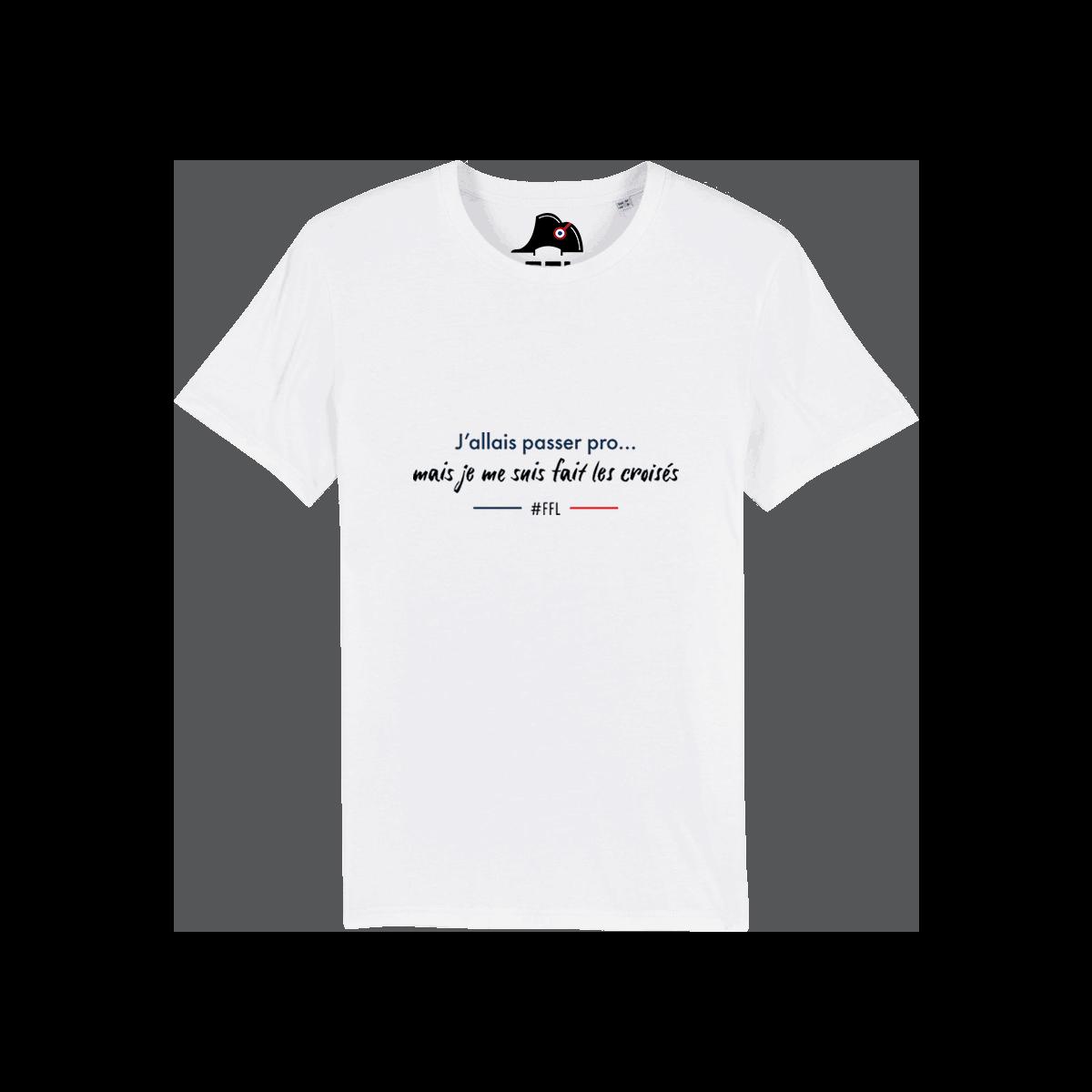 T-shirt j'allais passer pro ligaments croisés FFL