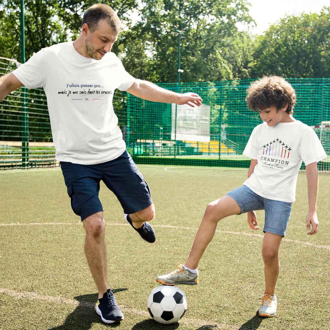 t-shirt ligaments croisés ffl
