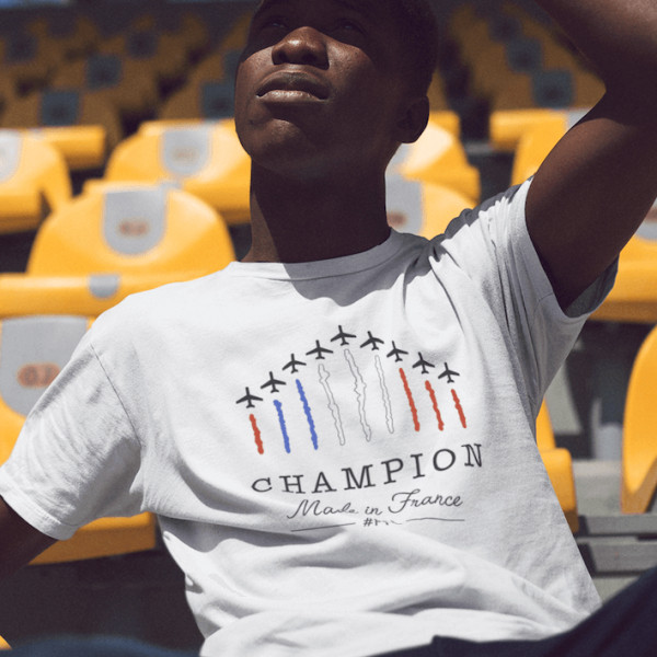 T-shirt FFL champion made in France