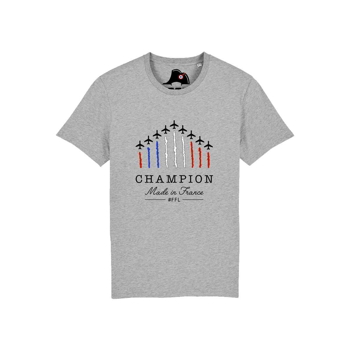 t-shirt champion made in France FFL