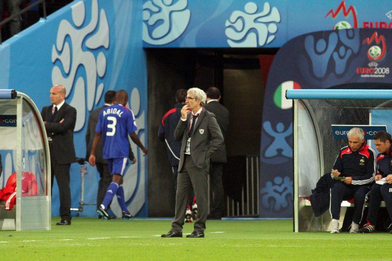 Euro 2008 Domenech Abidal Equipe de France