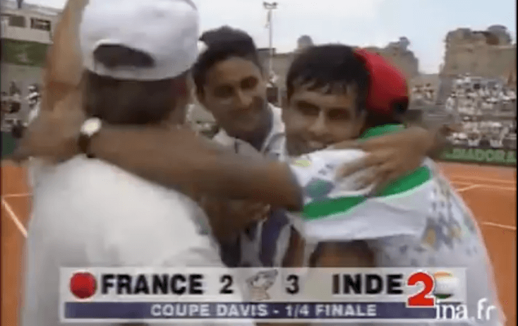 coupe davis france inde 1993