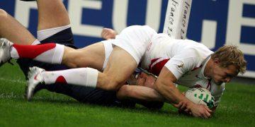 Traille Lewsey Coupe du monde de Rugby 2007