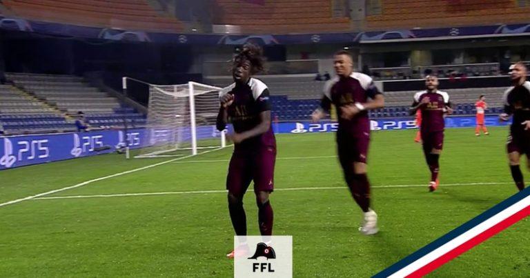 Moise kean PSG doublé