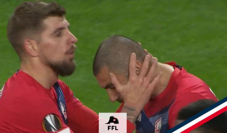 Quiz Football   Les joueurs du LOSC lors de leur précédente victoire à domicile en Europe