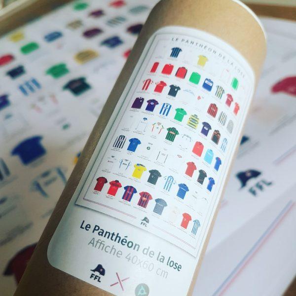 Affiche football Panthéon de la Lose