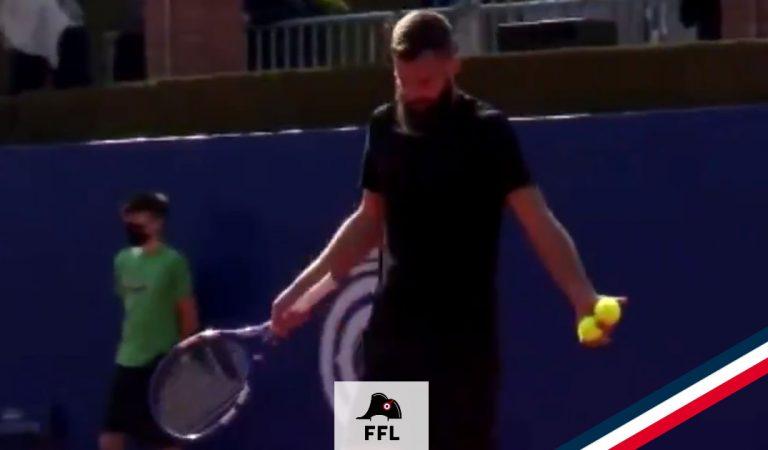 ATP Barcelone | Le monologue intense de Benoît Paire