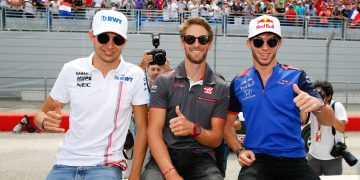 Gasly Ocon Grosjean GP de France 2018