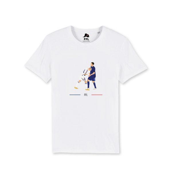 t-shirt zidane coup de boule FFL