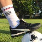chaussette FFL pieds carrés