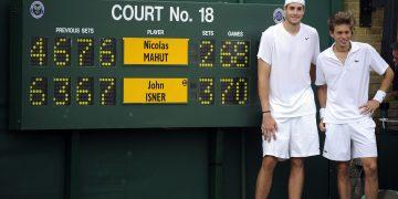 Mahut Isner Match sans Fin Wimbledon