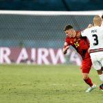 Belgique Portugal Hazard Pepe Euro 2020