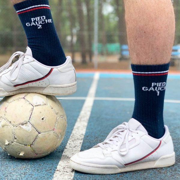 chaussette pied gauche FFL
