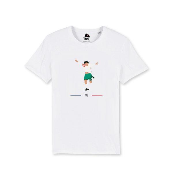 t-shirt ffl france bulgarie 1983