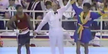 Roy Joney Park Seoul 1988 boxe